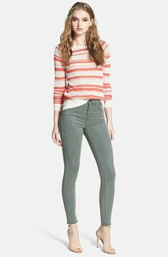 Sanctuary Top & J Brand Jeans  available at #Nordstrom