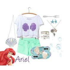 """Little Mermaid at Disneyworld"" by jordan-mcinally on Polyvore"