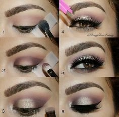 diy, eyes, makeup, maquillaje, ojos, paso a paso
