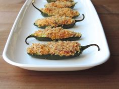 Loaded Baked Jalapeno Poppers