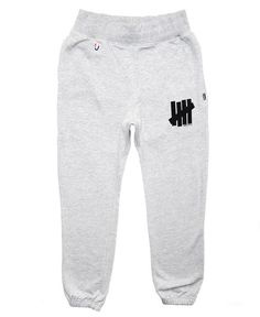 UNDEFEATED - 5 STRIKE FRENCH TERRY SWEATPANTS (GREY HEATHER)
