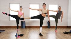 The 40-Minute Boxing and Toning Workout Victoria's Secret Models Love | Class FitSugar - YouTube