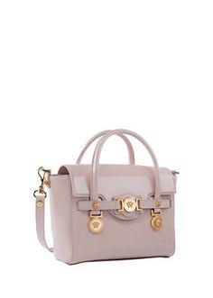 Versace - Signature-Tasche aus Lackleder
