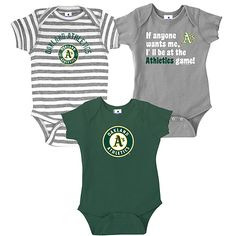 Perfect for the newest addition to the A's family ...