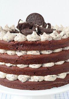 bakken met Oreo's Bakery Recipes, Snack Recipes, Dessert Recipes, Snacks, Delicious Desserts, Yummy Food, Food Vans, Oreo Cake, Cafe Food