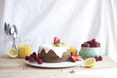 Bolo de Limão e Sementes de Papoila / lemon poppy seed cake - Migalha Doce