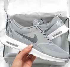Shoes: nike, nike shoes, nikes, instagram, new shoes, hipster, freshness, love, white, kylie jenner, grey, air max, women, theas, grey sneakers, low top sneakers, grey shoes, sportswear, sports shoes, gray shoes, nike running shoes, silver, shorts, greyshoes, sneakers - Wheretoget