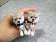 犬のあみぐるみ ヨメノジ*すきなもの日記* Dog Crafts, Crochet Animals, Paracord, Free Crochet, Free Pattern, Knitting, Dogs, Handmade, Patterns