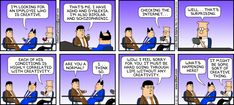 The Dilbert Strip for May 12, 2013. Thank you @Pete Quily
