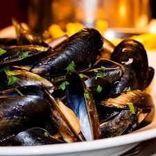 Lobster bisque mussels at Belgo centraal