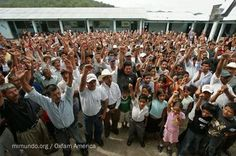 The indigenous peoples of Guatemala stop the huge hydro-electric dam at