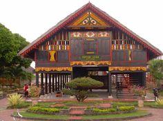Banda Aceh, Sumatra, Indonesia - Traditional House