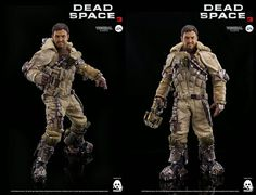 #onTOYSREVIL: #threezero-exclusive 1/6 #DeadSpace3 Isaac Clarke (Snow Suit Edition) features Issac headscultp (Preorders begin July 18)