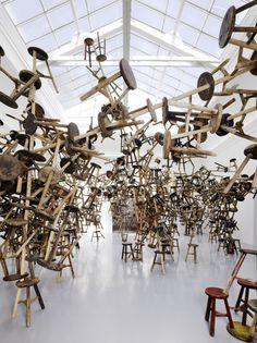 "#ART | 55th Venice Biennale, 2013. | ""Bang"" by Ai Weiwei | German Pavilion"