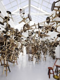 "#ART | 55th Venice Biennale, 2013. | ""Bang"" by Ai Weiwei 