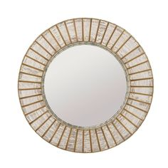 This round mirror from our Adalyn collection is formed of delicate mercury glass and has a thick-edged gold iron frame. This would make the perfect bathroom mirror or alternatively, hang in your hallway next to your Adalyn pendant to complete your industr Sutton House, Sweetpea And Willow, Mirror With Lights, Round Mirrors, Occasional Chairs, Mercury Glass, Antique Copper, Delicate, Pendant