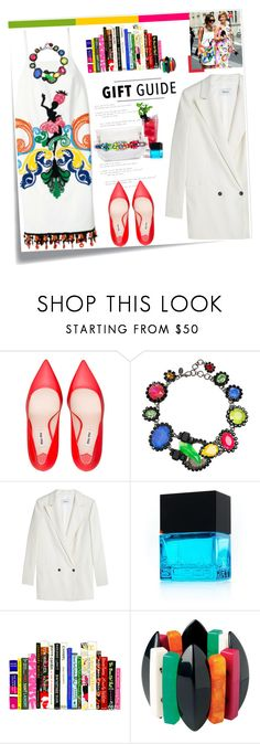 """No 259:Gift Guide: Your Bestie"" by lovepastel ❤ liked on Polyvore featuring mode, ...Lost, Prada, Miu Miu, Erickson Beamon, SHOUROUK, Ganni, Superdry, Toast et giftguide"