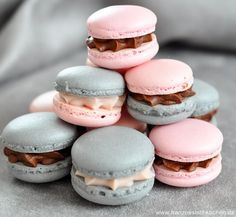 Macarons à la réglisse et à la Badiane (Lakritz und Sternanis Macarons)   Französisch Kochen by Aurélie Bastian