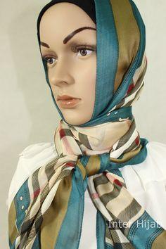 beautiful hijab  Inter Hijab trendy hijab  Classic Tartan Hijab,$25
