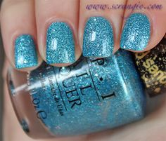 OPI Tiffany Case ....liquid sand but with topcoat over it which I think looks amazing :)