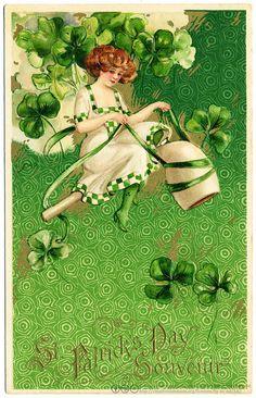 Happy Saint Patrick's Day! (c.1910)