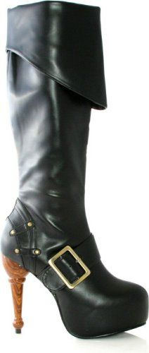 Leg Avenue - Jolly Roger Adult Boots Was List  $79.19 Buy Now: $44.99 - $68.44
