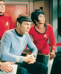 Spock, Uhura and Scotty