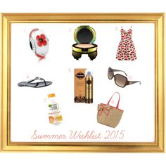 Summer Wishlist 2015 by helsy on Polyvore featuring Cutie, Michael Kors, GUESS, Kate Spade, MAC Cosmetics and Fake Bake