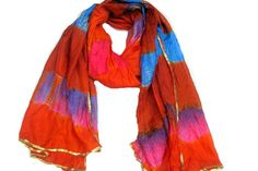SALE was 15 USD now...Tie and dye print multicolored long