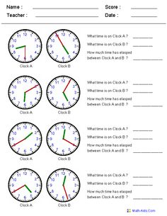 Worksheets Adding Time Worksheets clock the ojays and teaching resources on pinterest elapsed time worksheets so many of my kids struggle with times
