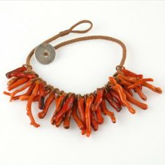 Branch coral necklace, 19th centry | North Africa