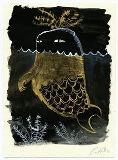 Monster Seaweed Fish