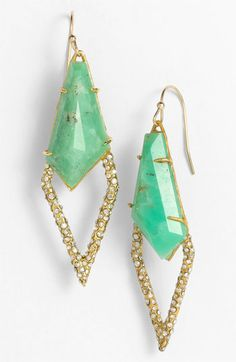 Alexis Bittar 'Miss Havisham - New Wave' Kite Earrings available at Nordstrom