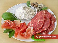 Saltimbocca all'Alfredo Recipe | Italian Food Recipes | Genius cook - Healthy Nutrition, Tasty Food, Simple Recipes