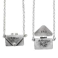 Love letter necklace!