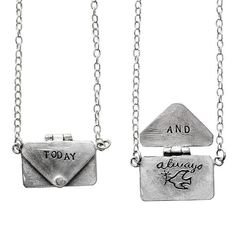 Love letter necklace!