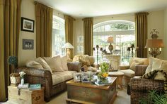 Joy Tribout Interior Design - nice mix of styles and gives me an idea for using my large apothecary jar