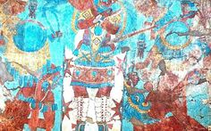 Mural prehispánico en Cacaxtla. El museo de Cacaxtla merece ser redescubierto image 4