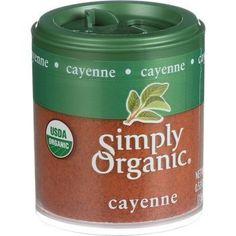 Simply Organic Cayenne Pepper Organic 2.89 oz