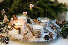 Adventsljus i glasburkar Advent närmar sig….bara en och en halv vecka kvar…Varje år brukar jag göra en ny adventsljusstake, och det är alltid lika...