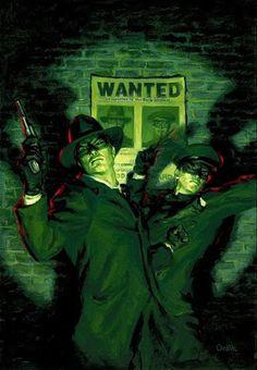 The Green Hornet Chronicles - cover by Glen Orbik