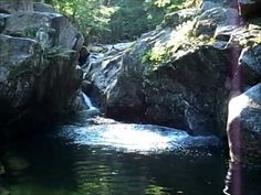 Top ten Swimming Holes to visit this Summer... Emerald pool, New Hampshire