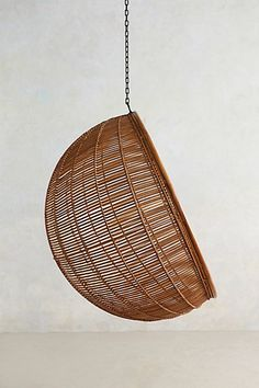 Rattan Hanging Chair - anthropologie.com