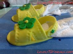 How to make baby baby sandals