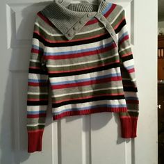Fall sweater Beautiful stripped sweater great for fall Tops Sweatshirts & Hoodies