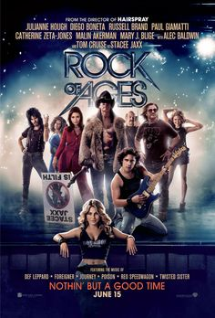 "...Stage Dive: @Lindsey Malkus reviews ""Rock of Ages"""