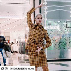 #Repost @timisoaradesigndays (@get_repost) ・・・ Dacă ai trecut ieri prin Shopping City Timisoara și ai surprins acest moment - să știi că… Dresses With Sleeves, Long Sleeve, Shopping, Fashion, Moda, Sleeve Dresses, Long Dress Patterns, Fashion Styles, Gowns With Sleeves