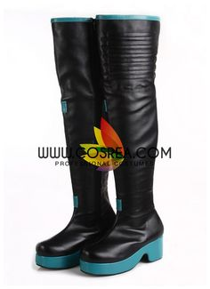 Item Detail Vocaloid Hatsune Miku Cosplay Shoes Includes - Shoes All of our shoes are custom, made to order. Please let us know if you have any fitting and sizing preferences, including boot height, h