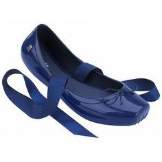 Melissa Ballet Azul #amo