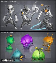 ratchet and clank character design - creaturebox